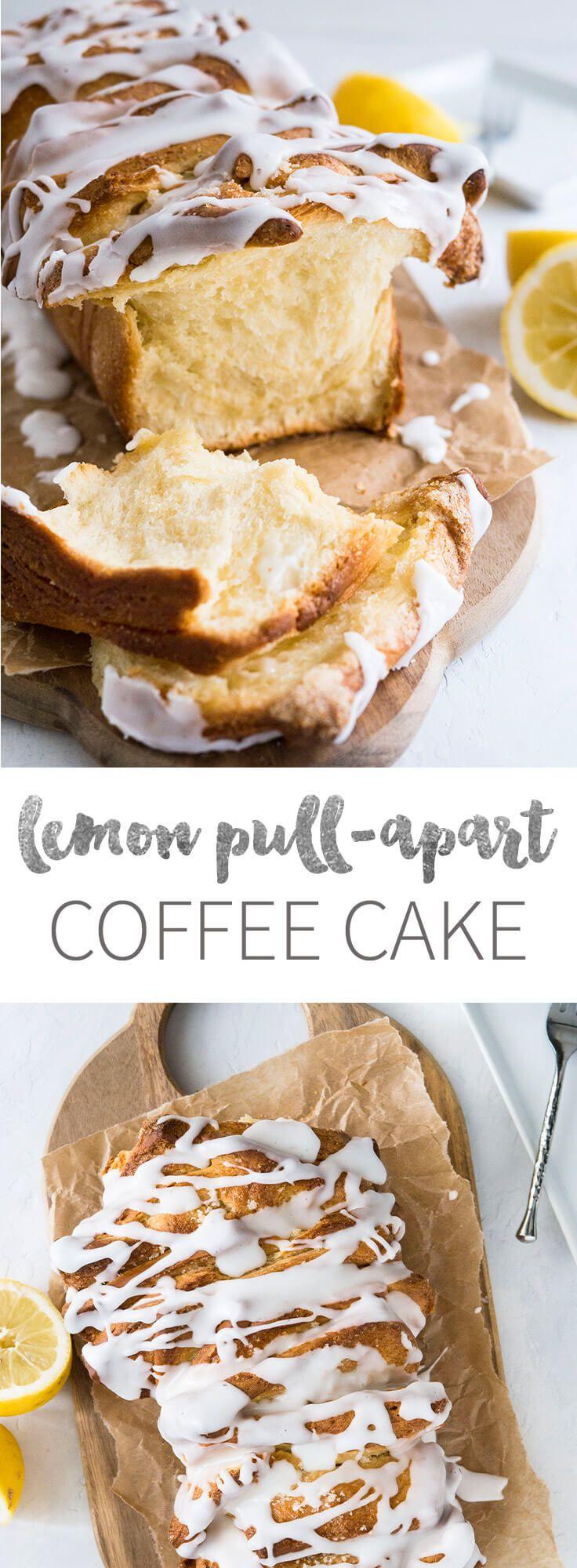 레몬 풀 아파트 커피 케이크