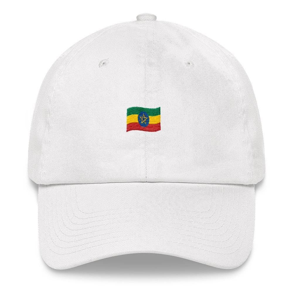Ethiopia emoji flag dad hat embroidered design dad hats