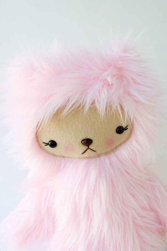 Teddy Bear Plushie in by bijoukitty, $39.00