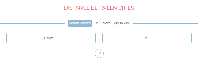 Easily calculate the distance between USA cities | Calculate It ...