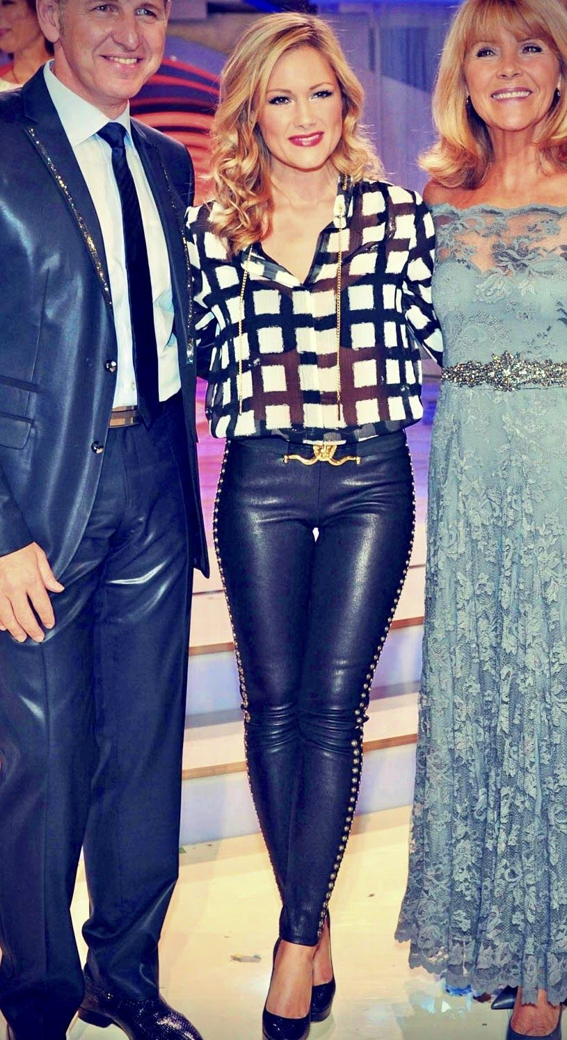 Helene Fischer Helene In 2019 Pinterest Leather Leather