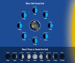 Stages of the moon