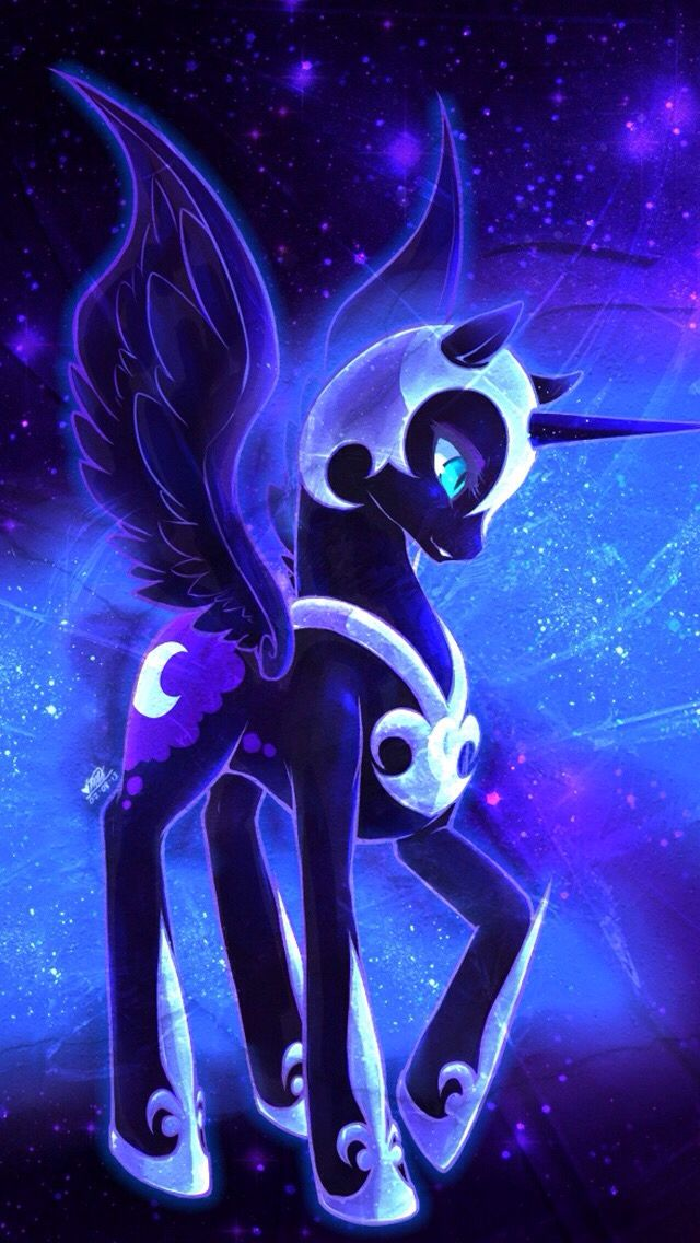 Nightmare Moon My Little Pony Comic My Little Pony Pictures My Little Pony Wallpaper