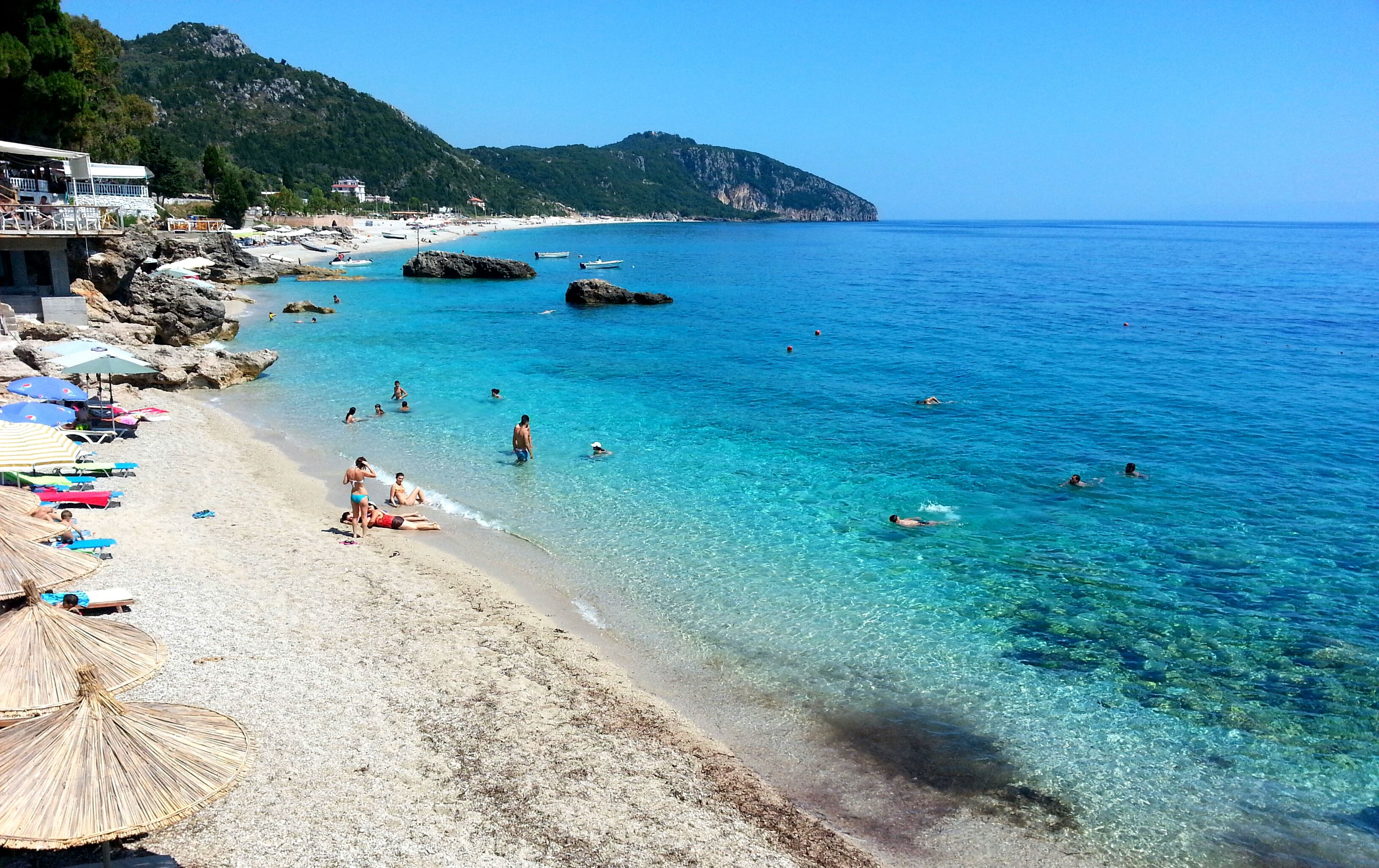 Dhermia Beach Albania Outdoor Beach Water