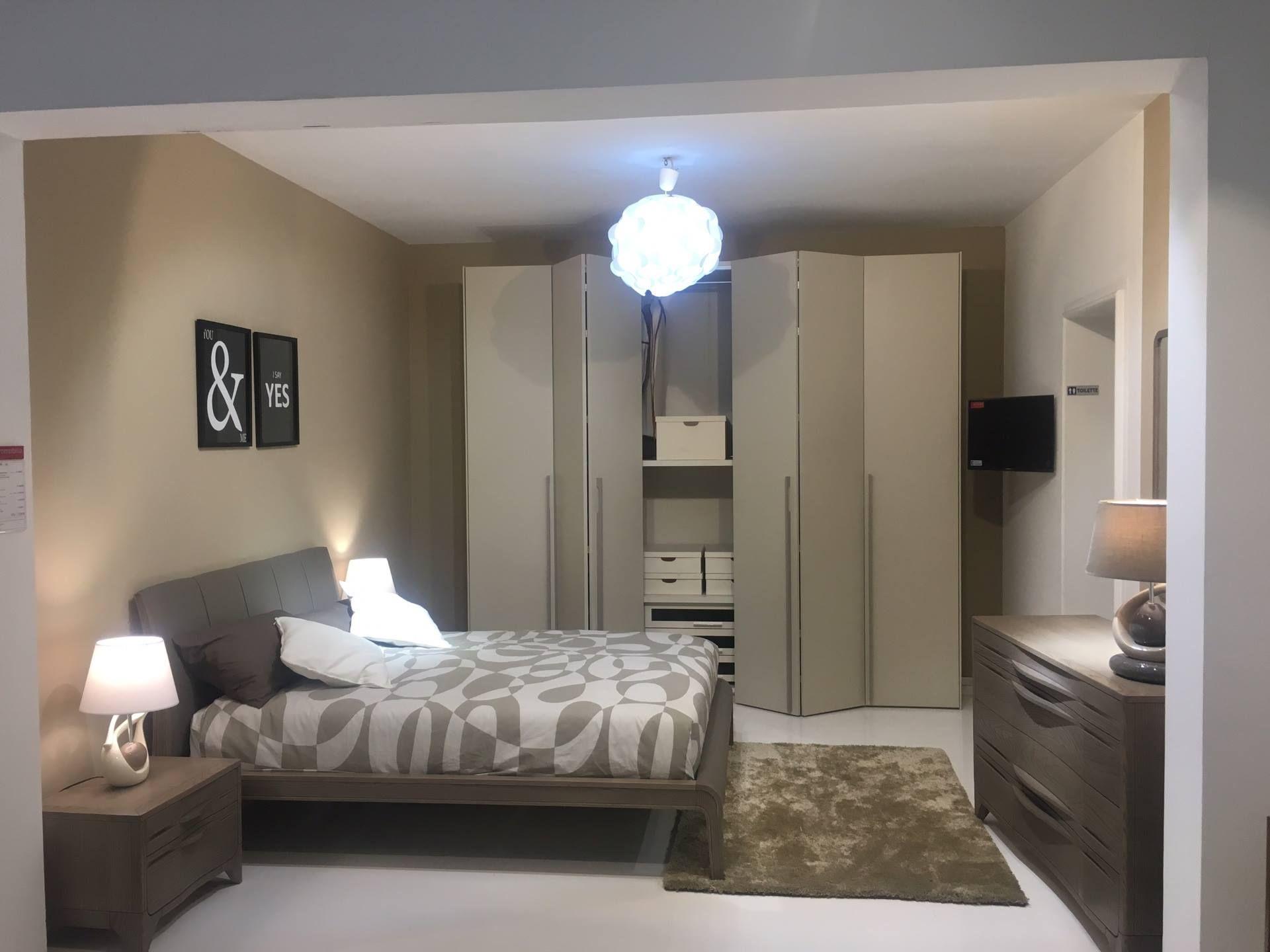 🔥 Offerta - Camera da letto Completa di armadio a soffietto, comò ...