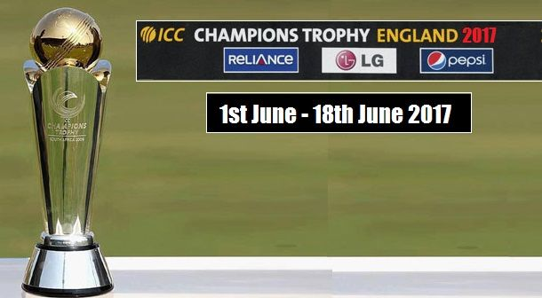ICC CHAMPIONS TROPHY 2017 SCHEDULE PDF DOWNLOAD TIME TABLE,FIXTURES,STARTING DATE,VENUES