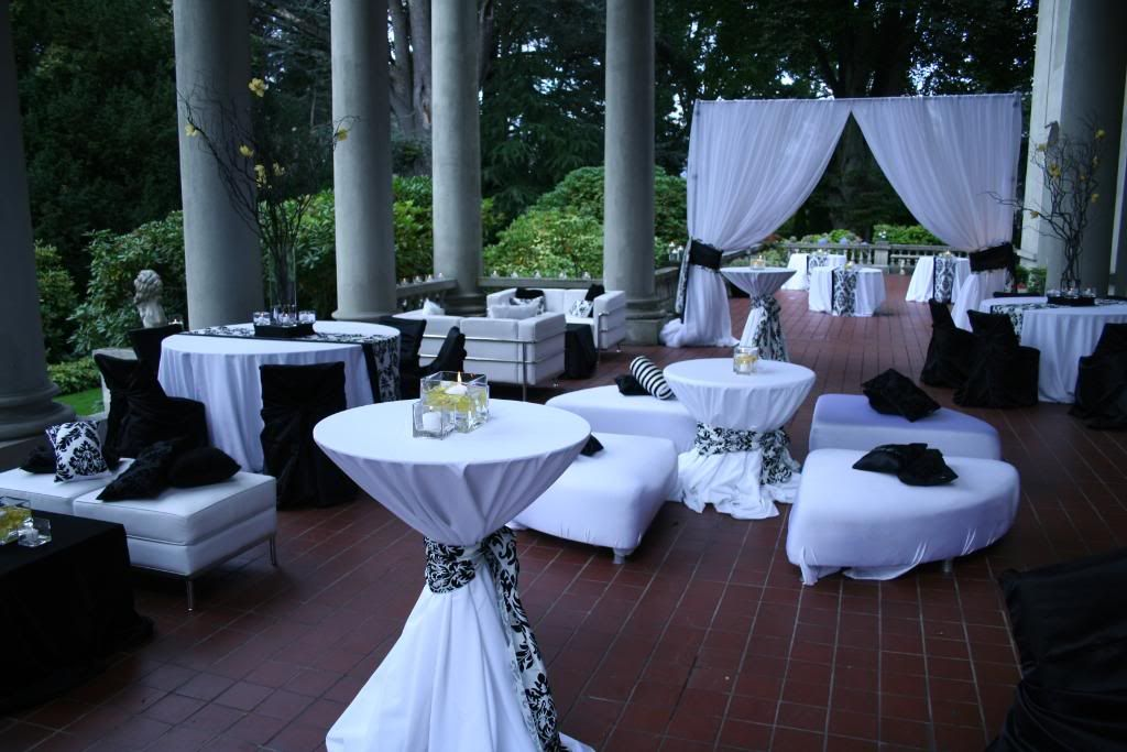 Similar to the setup and seating I would like for my wedding