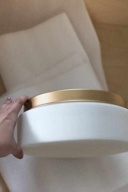 Photo of Ein Trick zum Wechseln der Leuchtenoberfläche – roomfortuesday.com #bathroomfixtu …