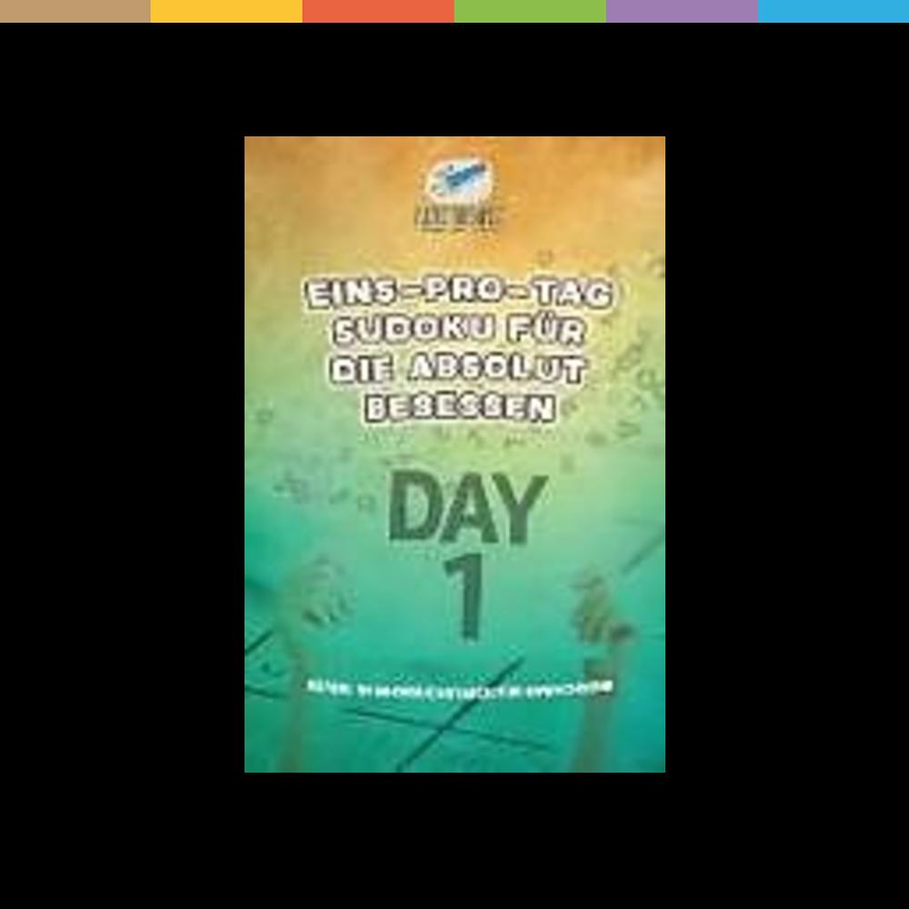 Naturwissenschaftsbücher Puzzle Therapist Eins-pro-Tag Sudoku für die Absolut Besessen | Rätsel in Großbuchstaben für Erwachsene