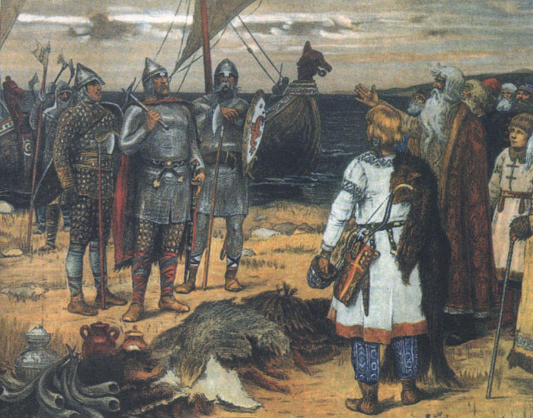 Viking History Facts Myths Viking History Viking Culture History Painting
