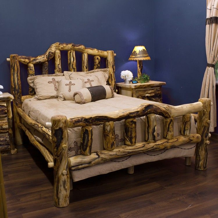 Aspen Mountain Snowload II Bed by Mountain Woods Furniture