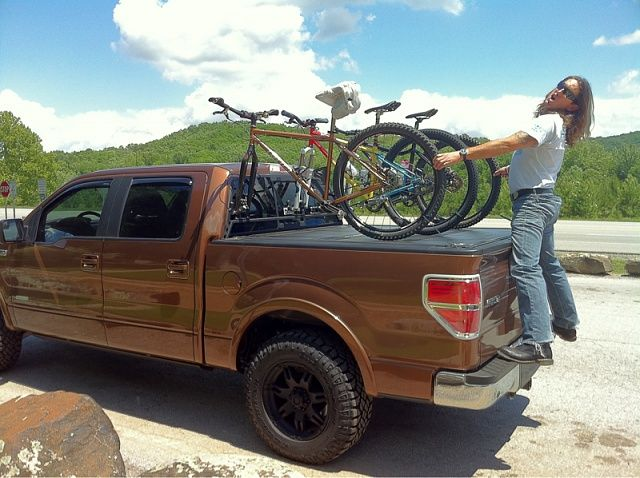 Bakbox F 150 Diy Mountain Bike Mount Ideas Page 7 Ford