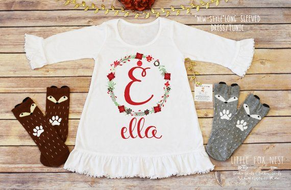 Christmas Dress, Christmas Outfit, Christmas Outfit Baby Girl, First