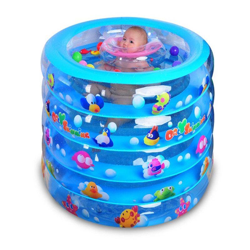 2017 NewBaby Pool Portable Baby Piscina Plastic Pool Summer Baby Swimming  Pool Green Kinder Schwimmbad Cartoon