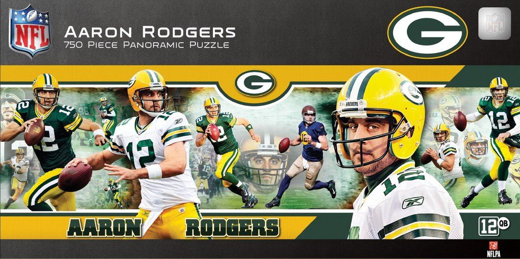 0ad664278a3 NFL Green Bay Packers - Aaron Rodgers - 750 Piece Jigsaw Puzzle ...