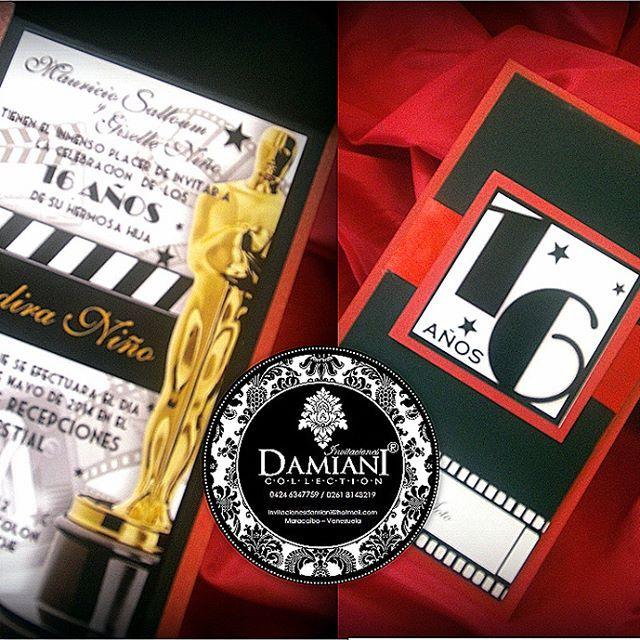 Hollywood Mtv Diseño Exclusivo De Invitaciones Damiani