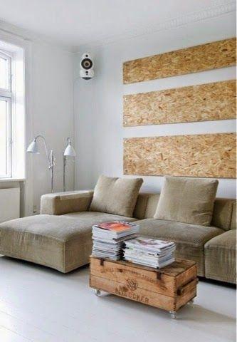 Usando OSB na decoração - barato e versátil ~ ARQUITETANDO IDEIAS