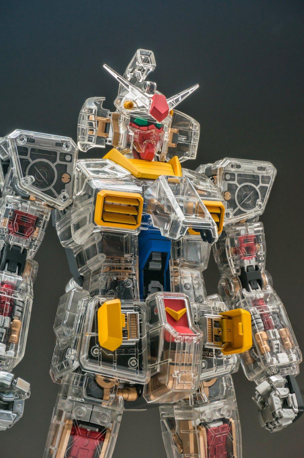 014c70a93f9 PG 1 60 RX-78-2 Gundam  Mechanical Clear Ver.  by HUIDONG