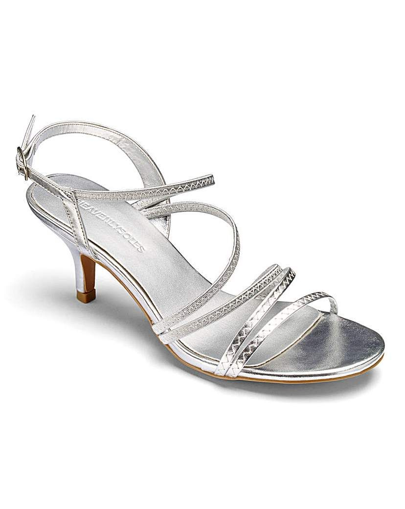 f8cfa088073 Heavenly Soles Occasion Shoes D E Fit  Complete your outfit with these  elegant strappy