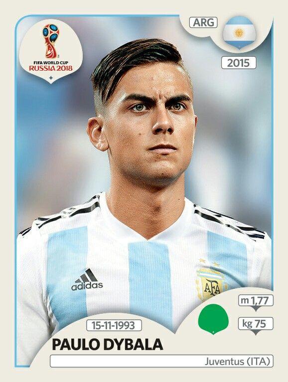 Paulo Dybala - Argentina - Panini FIFA world cup Russia 2018 ...