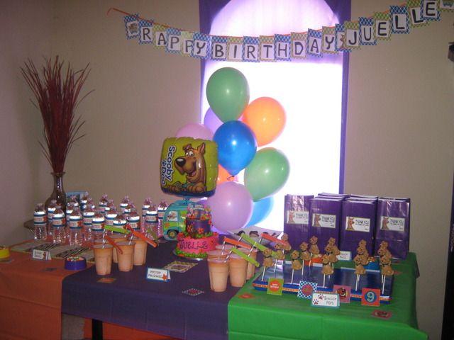 Scooby Doo Mystery Birthday Party Ideas Scooby doo mystery
