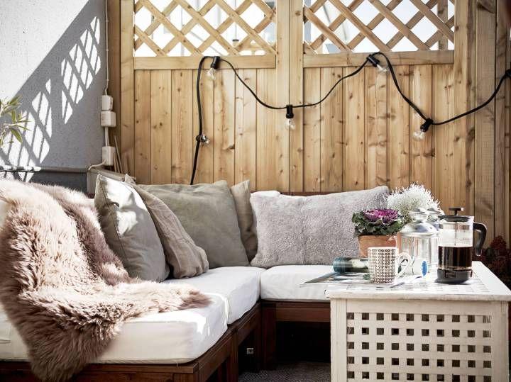 Un Primero Con Terraza Open Plan Apartment Interior