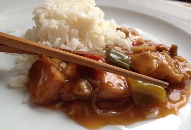 Chop Suey con pechuga de pollo. http://macrecetas.wordpress.com/2012/05/10/chop-suey/
