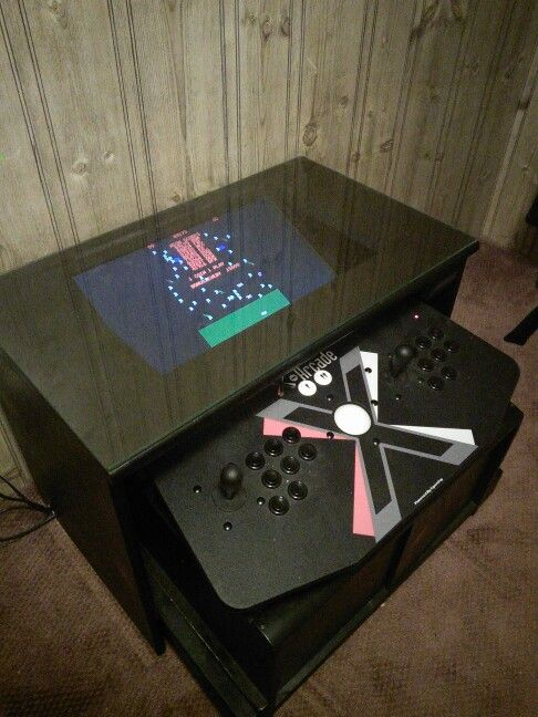 Mame Coffee Table.My Self Designed Mame Cocktail Table Style Arcade Machine Monitor
