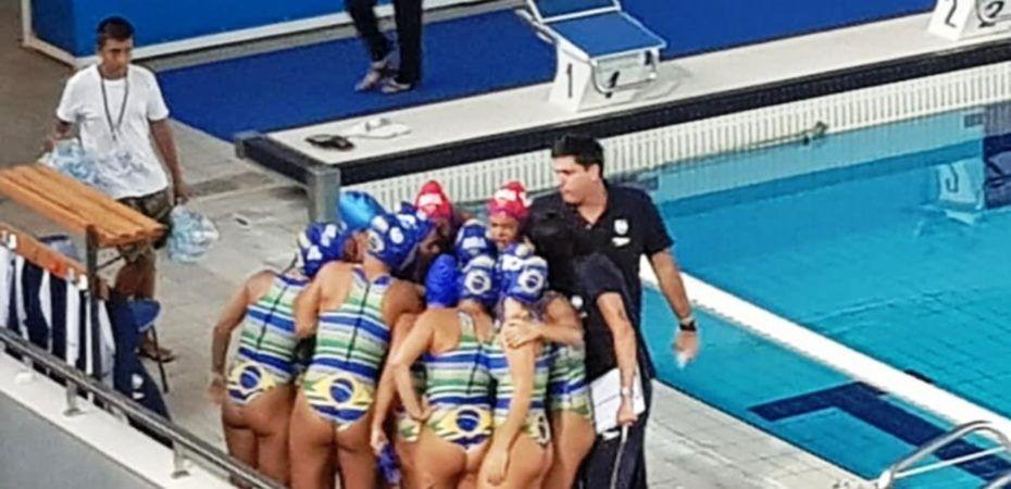 Seleção Brasileira sub-18 de Polo Aquático feminino perde para a Grécia na  estreia 41916780df004