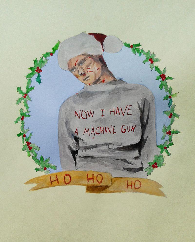 Die hard christmas cards die hard christmas die hard