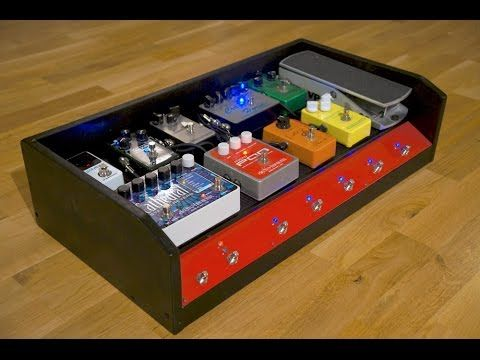 Diy Pedalboard | Diy Pedal Board And Case | Diy Pedal ...