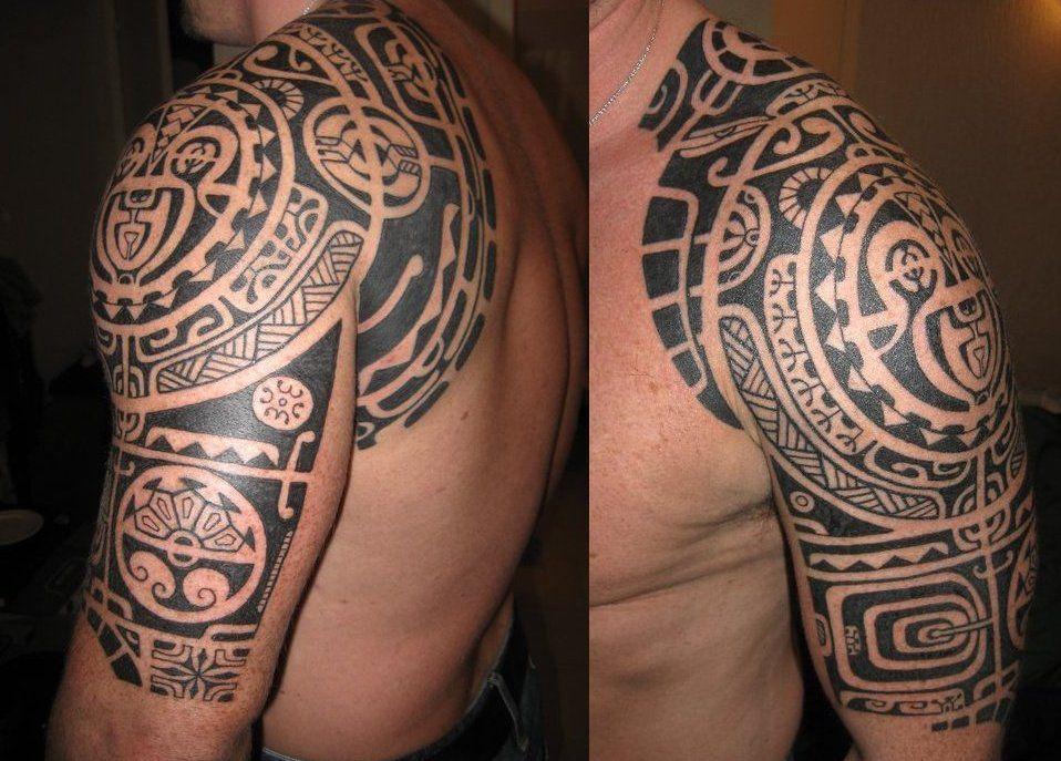 tatuajes-armadura-coraza-hombro-brazo-omoplato-clavicula--hawaii
