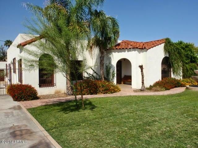 Spanish Style 3 Bedroom Home In Encanto Palmcroft Historic