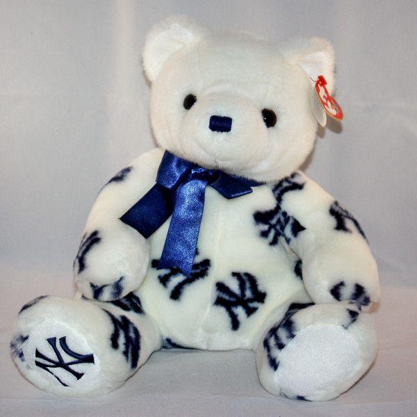 be72eeb706c Ty Tradition Beanie Buddies New York Yankees bear