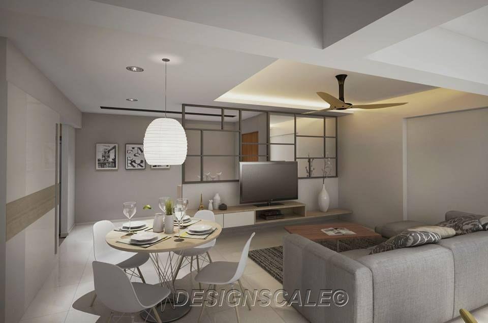 New Usable Space For Hdb 4Room Resale At Bukit Panjang  Interior Cool Hdb 4 Room Living Room Design Design Ideas