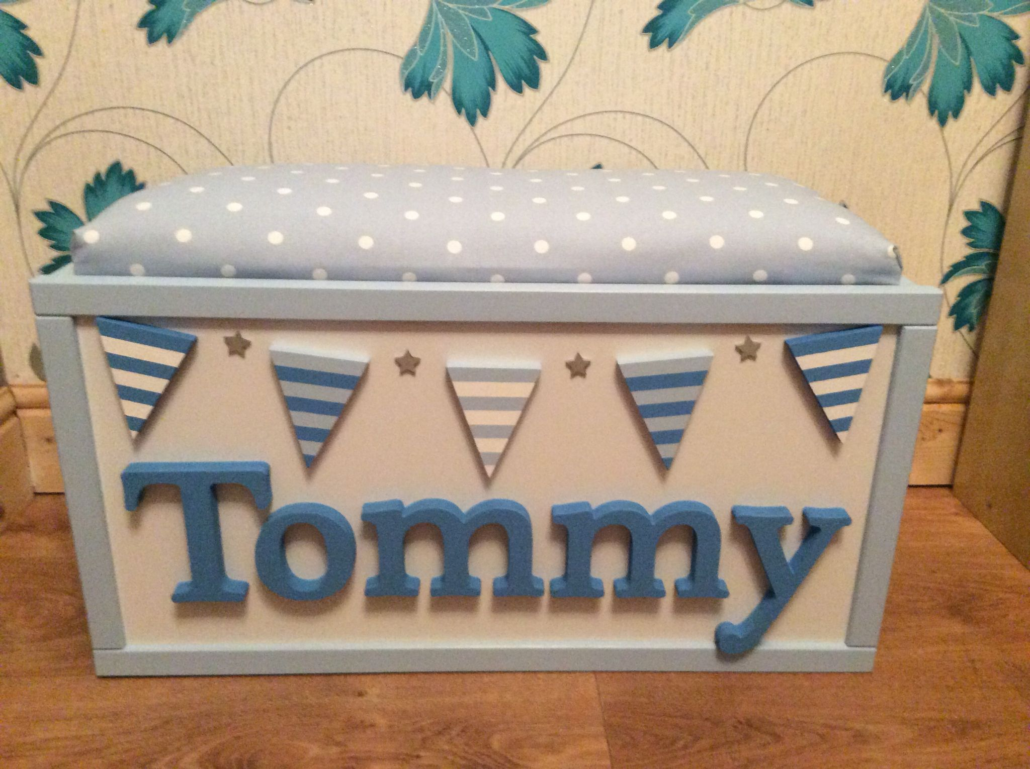 Personalised Toy Boxes 90 15 Delivery From Http Www Facebook Com Lauras Charactercrafts Toy Boxes Personalized Toys Personalised Toy Box