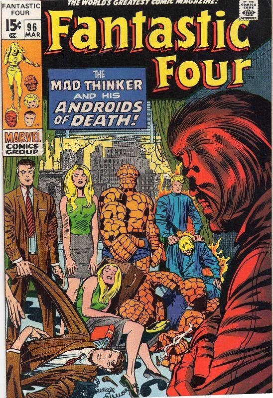 Fantastic Four #96.
