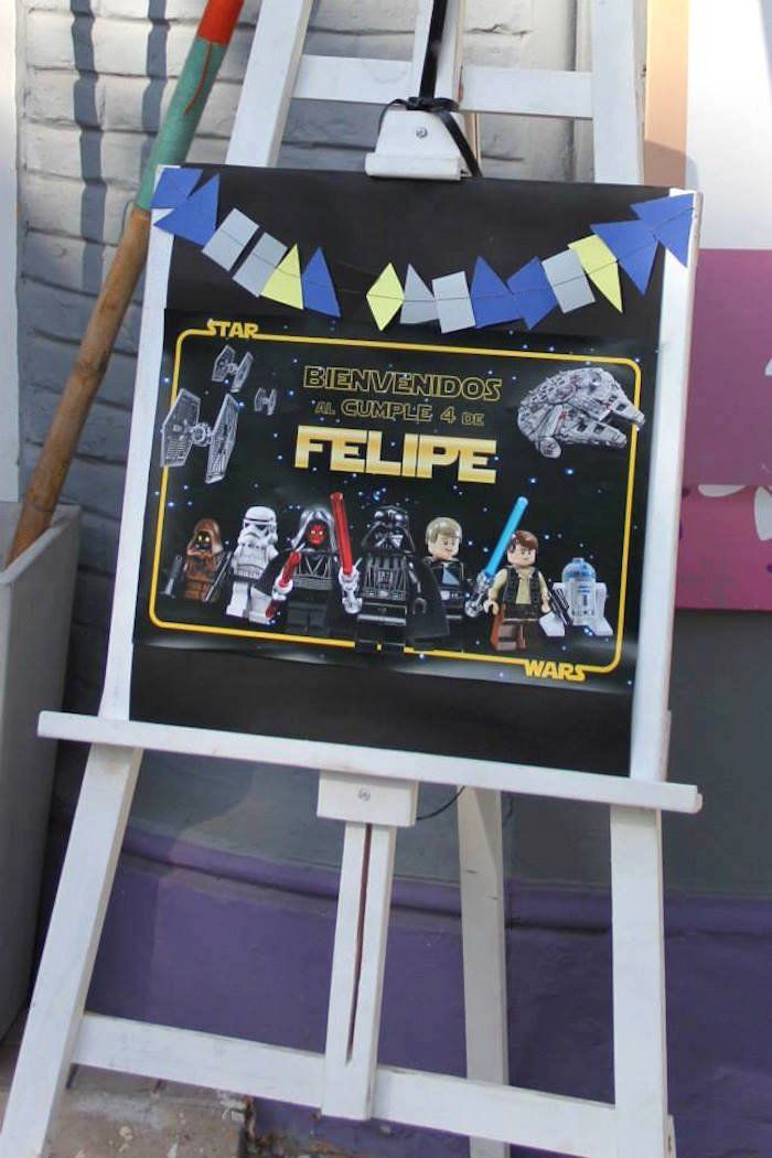 Pin for Later: Plan a Lego Star Wars Birthday Party That Is Completely Out of This World