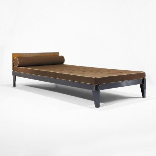 Bed From L Unite D Habitation Air France Brazzaville Congo Manufactured By Les Ateliers Jean Prouve France 1942 1 Bed Furniture Mid Century Sofa Furniture
