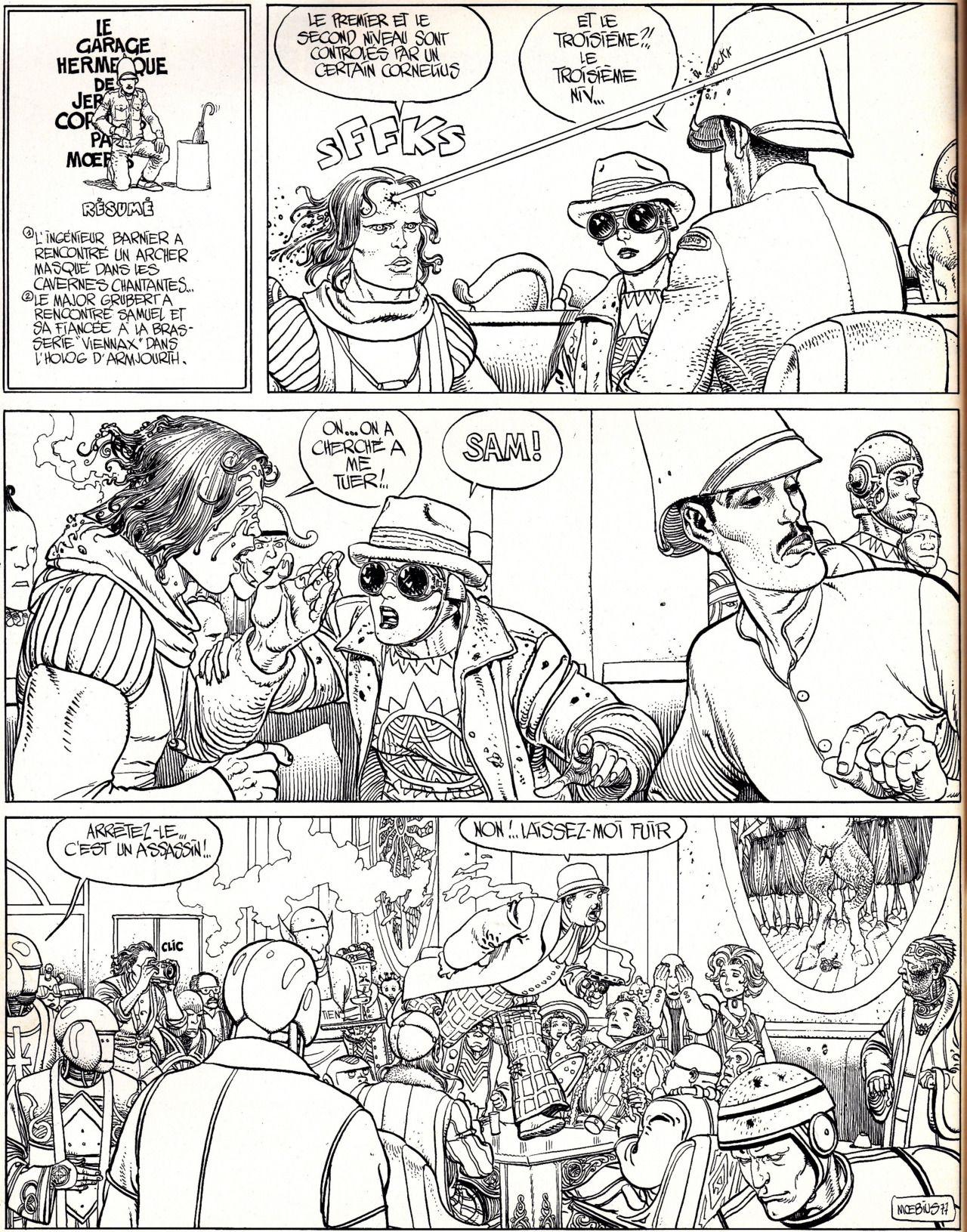 Orano Factory Moebius Comic Layout Comic Books Art