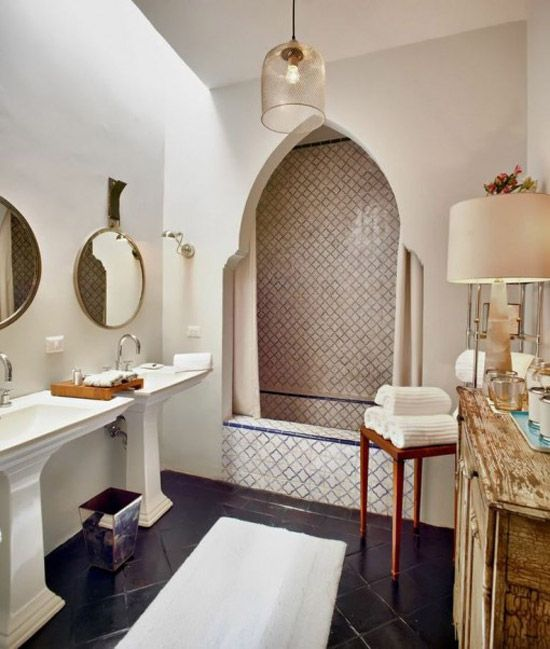 marokkaanse badkamers | Mooie Marokkaanse badkamers | Wooninspiratie ...