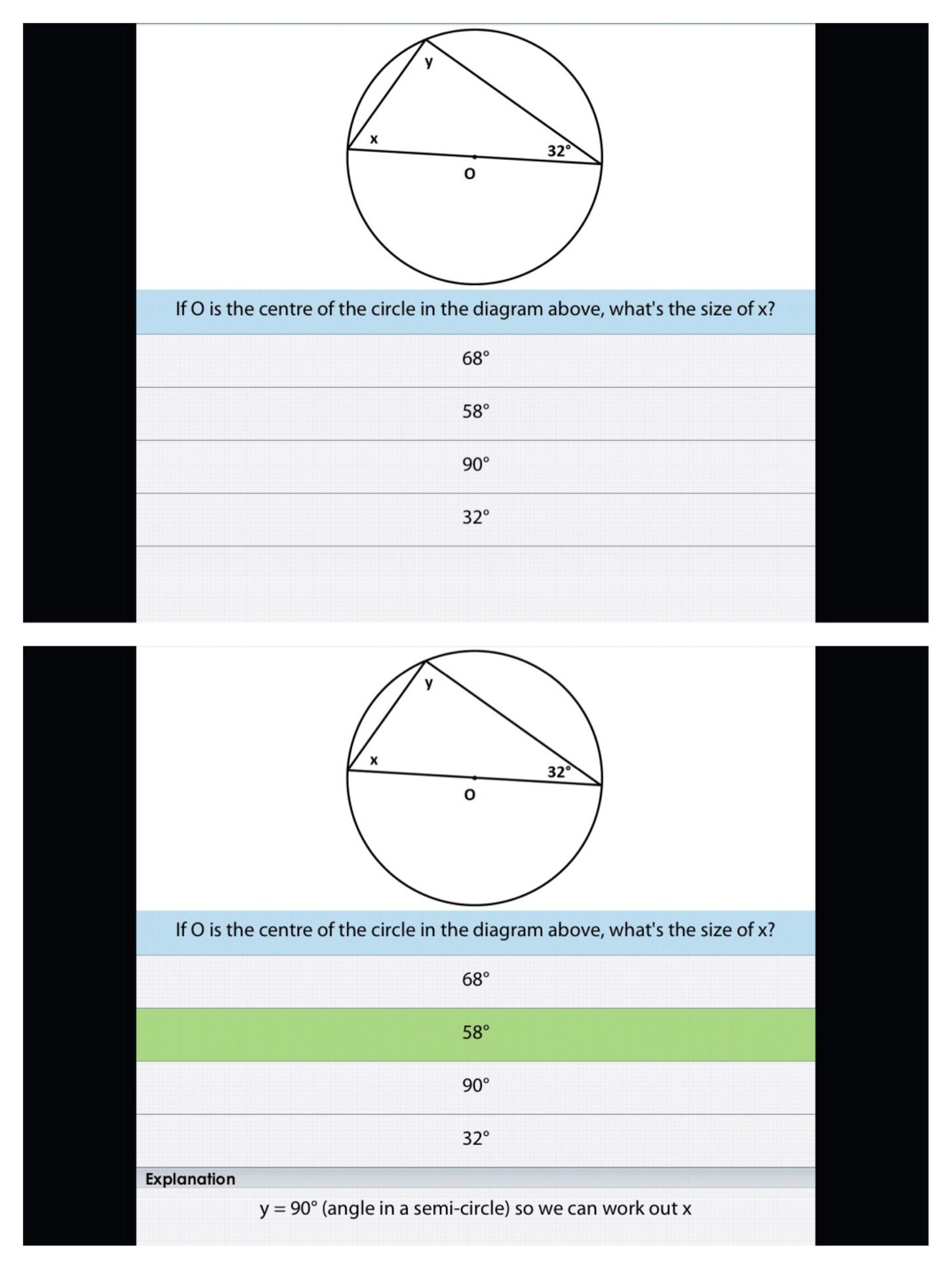 Cambridge Math Revision Worksheet