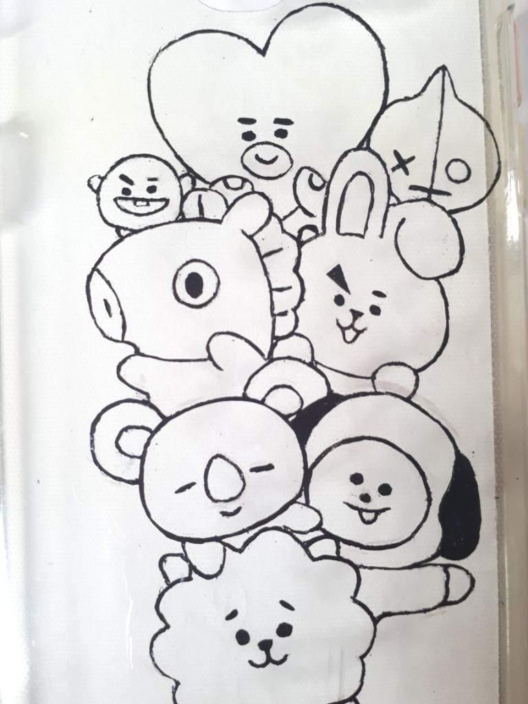16 Coloring Page Bt21 Unicorn Coloring Pages Coloring Pages Zebra Coloring Pages