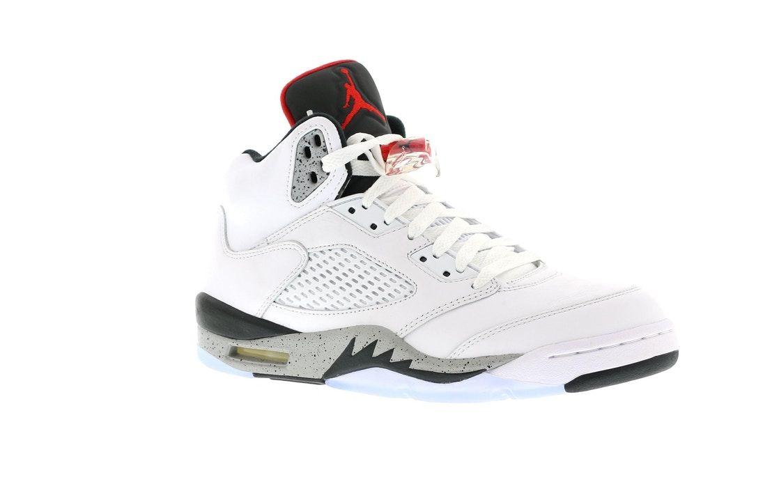 589d021a9e7 Jordan 5 Retro White Cement in 2019   swag shoes g unit   Jordans ...