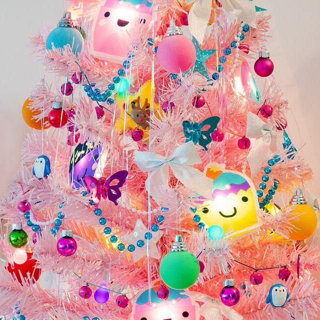 Kawaii Christmas Tree | Christmas tree, Kawaii and Pink christmas