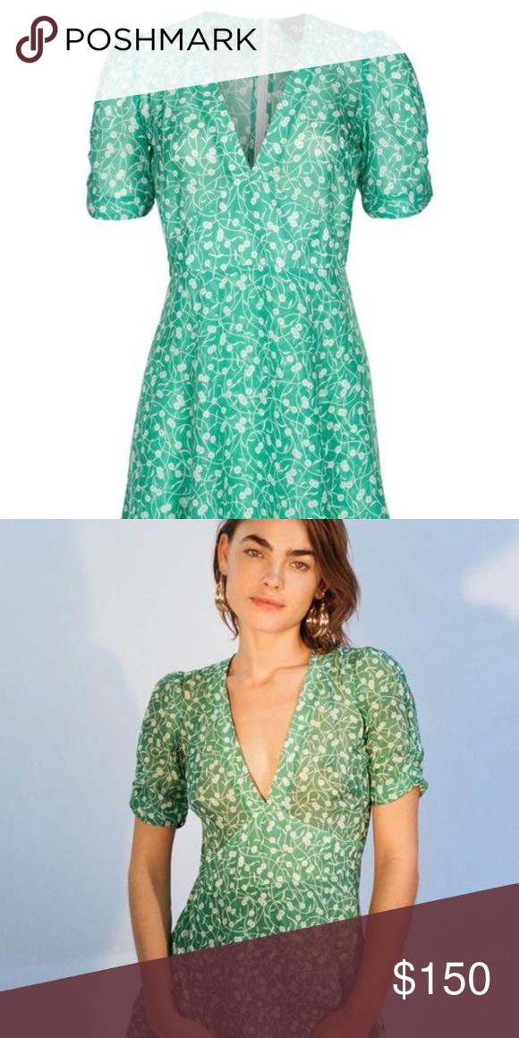 5ff149806c02 Realisation Par short sleeve dress The Ozzie - Poison Ivy dress XXS ...
