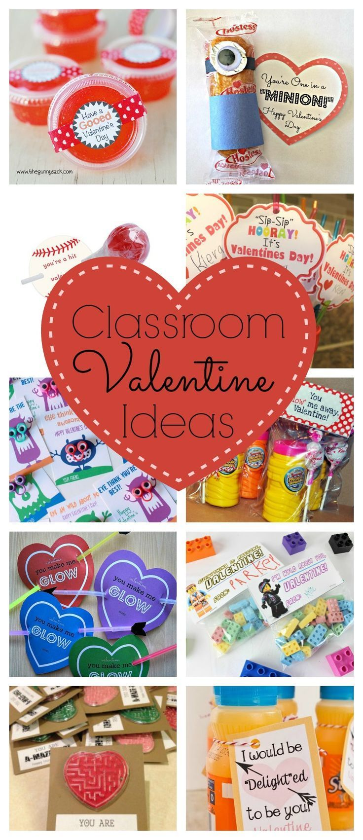 Classroom Valentine Ideas...Every year I am on the look out for fun and creative Classroom Valentine Ideas. Here are a few of my favorite ones I have seen this year.