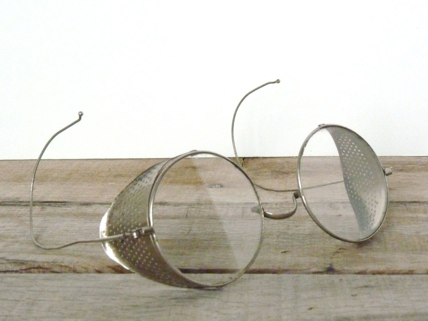 48dce0b642a Vintage 1920s Willson Driving Glasses