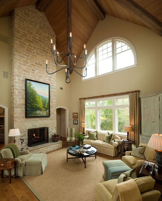 iluminar estancias con techos altos