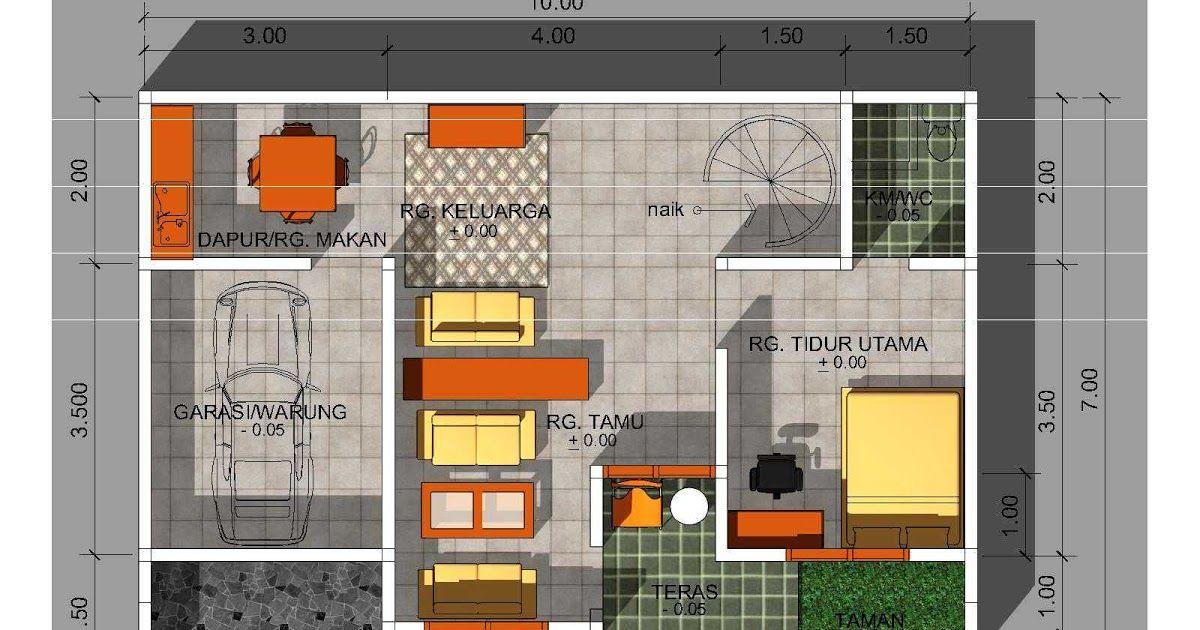 Cara Membuat Desain Rumah 2 Lantai Minimalis Modern Desain 2
